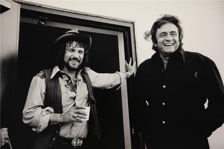Waylon Jennings & Johnny Cash 1974